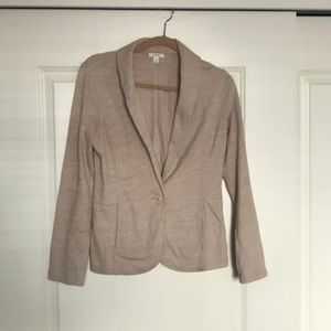 Beige Sweater / Blazer